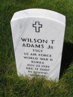 Wilson Theodore Adams, Jr