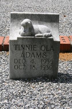 Tinnie Ola Adams