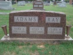 Helen V <i>Ray</i> Adams