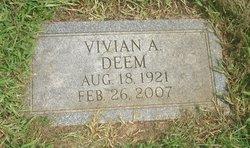 Vivian A. <i>Villers</i> Deem