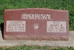 Mary Kathleen <i>Lipscomb</i> Boksa