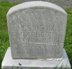 Hedvig M <i>Nelson</i> Carlson