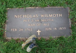 Pvt Nicholas J. Wilmoth