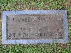 Catherine Elizabeth <i>Simpson</i> Austin
