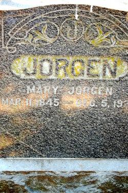 Mary <i>Kelland</i> Jorgenson