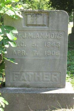 Rev J. M. Ammons