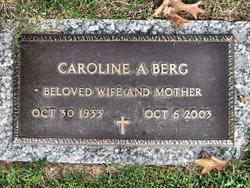 Caroline A <i>Rimer</i> Berg
