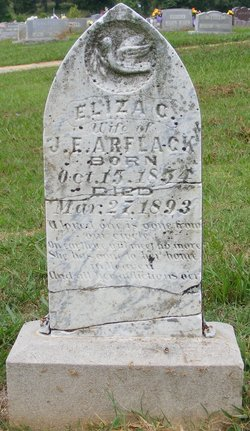 Elizabeth Catherine Eliza <i>Walker</i> Arflack