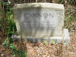 Mary <i>Gilmore</i> Cannon