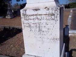 John A Osborn