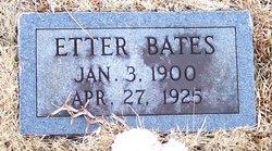 Etta E. <i>Tucker</i> Bates