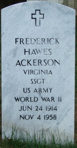 Frederick Hawes Ackerson