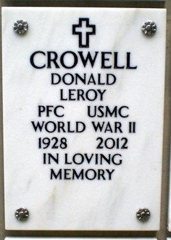Donald Leroy Crowell