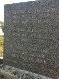 Sarah Ann <i>Hinton</i> Graham