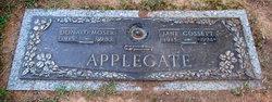 Jane Isabel <i>Gossett</i> Applegate