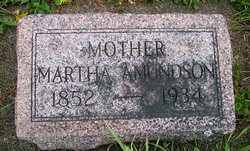 Martha <i>Olson</i> Amundson