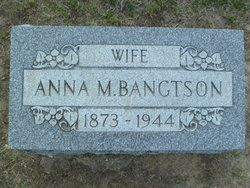 Anna Matilda <i>Johnson</i> Bangtson