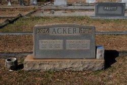 Frances Norwood Fannie <i>Townsend</i> Acker