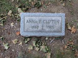 Anna F <i>Buman</i> Clifton