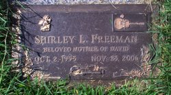 Shirley Louise <i>Singleton</i> Freeman