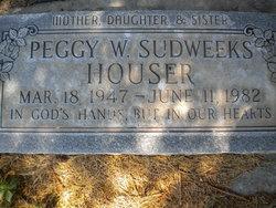 Peggy W. <i>Sudweeks</i> Houser