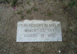 David Hendry Bland, Jr