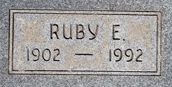 Ruby Ellen <i>Hagood</i> Cable
