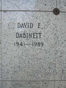 David Franklin Dabinett