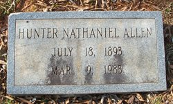 Hunter Nathaniel Allen