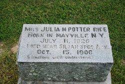 Julia Martha <i>Potter</i> Rice