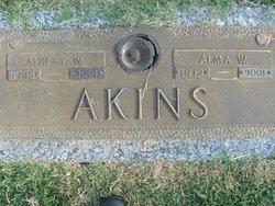 Alma W Akins