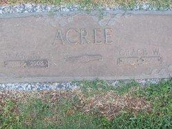 Grace W Acree