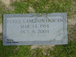 Eurice Amanda <i>Langdon Ogburn</i> Martin