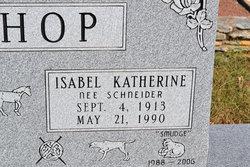 Isabel Katherine <i>Schneider</i> Bishop
