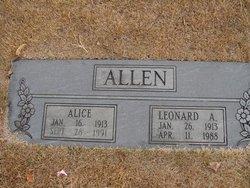 Leonard A. Allen