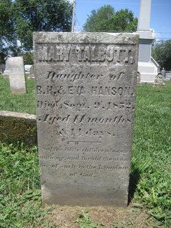 Mary Talbutt Hanson