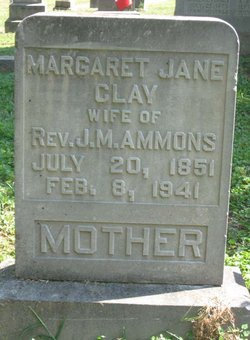 Margaret Jane <i>Clay</i> Ammons