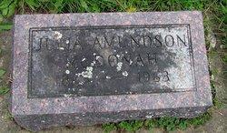 Julia <i>Amundson</i> McDonah