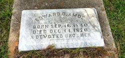 Edward D Amos