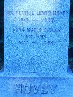 Anna Marie <i>Sibley</i> Hovey