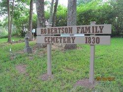 Robertson Family Cemetery