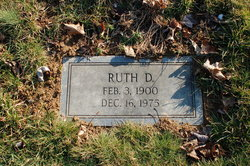 Ruth D Groy