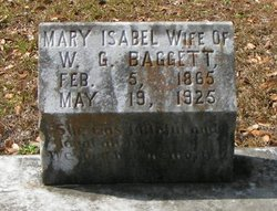 Mary Isabell <i>Lewis</i> Baggett