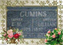 Lillian Anna <i>Tanksley</i> Cumins