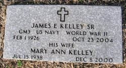 James E Kelley, Sr