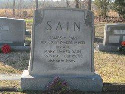 Mary Mariah <i>Ijames</i> Sain