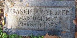 Francis A Scherer