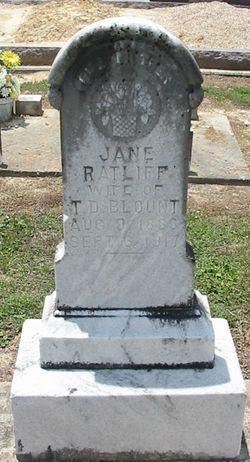 Jane <i>Ratcliff</i> Blount