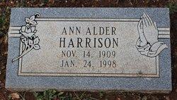 Ann <i>Alder</i> Harrison