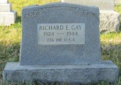 PFC Richard Edward Gay